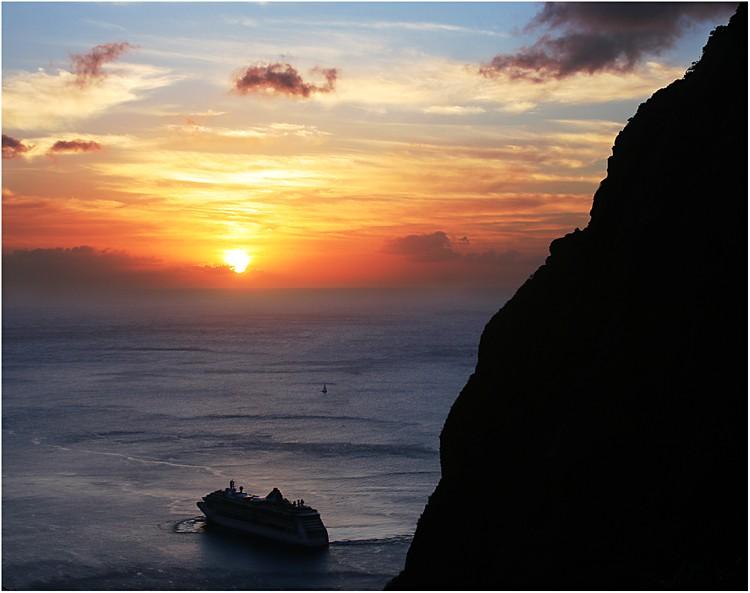 photoblog image Into the Sunset (La Dera, St. Lucia)