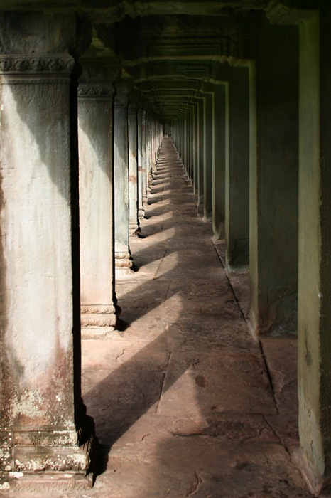photoblog image Infinity at Angkor Wat