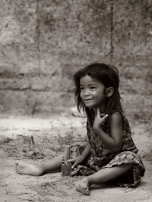 photoblog image Innocence at Angkor